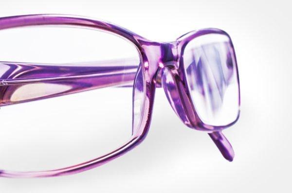 Grubość szkieł okularowych