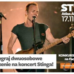 Wygraj dwuosobowe bilety na koncert Stinga