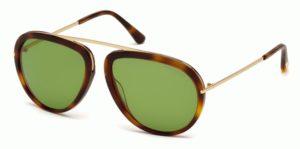 Okulary przeciwsłoneczne damskie męskie Tom Ford FT0452_5756N