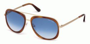 Okulary przeciwsłoneczne damskie męskie Tom Ford FT0469_5956W