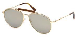 Okulary przeciwsłoneczne damskie męskie Tom Ford FT0536_6028C