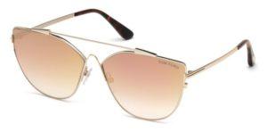 Okulary przeciwsłoneczne damskie męskie Tom Ford FT0563_6433G