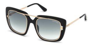 Okulary przeciwsłoneczne damskie męskie Tom Ford FT0619_5201B