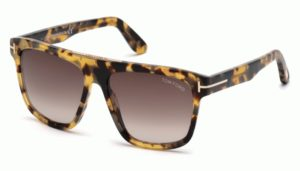 Okulary przeciwsłoneczne damskie męskie Tom Ford FT0628_5756K