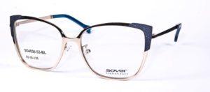 Okulary korekcyjne damskie męskie Sover SO4036-53-BL