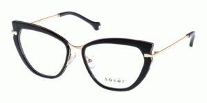 Okulary korekcyjne damskie męskie Sover SO4084-56-BLK