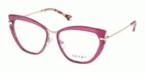 Okulary korekcyjne damskie męskie Sover SO4084-56-PUR