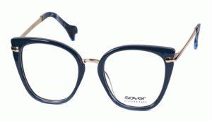 Okulary korekcyjne damskie męskie Sover SO5646-52-BL